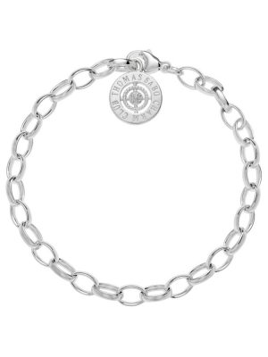 Thomas Sabo DCX0001-725-14 Charm Armband Diamant Gr. S 14,5 cm