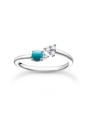Thomas Sabo Ring - 50 blau