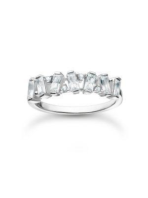 Thomas Sabo TR2346-051-14 Ring Damen Weiße Steine Silber Gr. 58