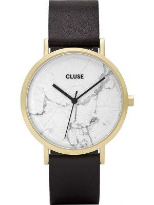 Cluse Uhren - La Roche - Gold - Marmor - CL40003 schwarz