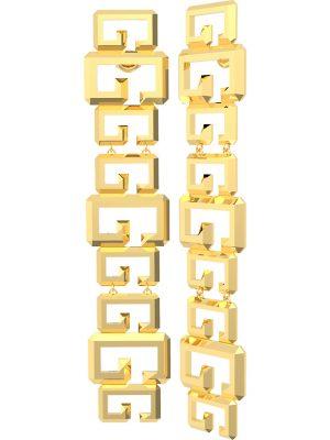 Guess Ohrringe im SALE Ohrhänger aus Edelstahl, UBE70077, EAN: 7618483904673