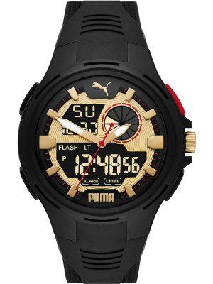 Puma Analoguhr im SALE Herrenuhren P5078, Schwarz, EAN: 4064092056563