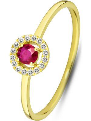 Damenring aus 375 Gelbgold, Valeria XR8711, EAN: 4064721556044