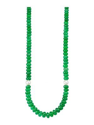 Jade-Collier Diemer Farbstein Grün
