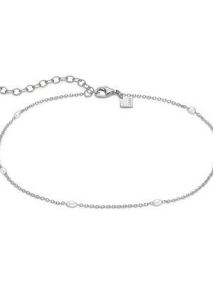 QOOQI Fusskette aus 925 Silber Damen, 87991067, EAN: 4040615327013