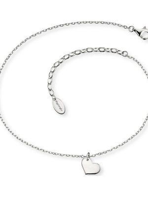 Engelsrufer im SALE Fusskette aus 925 Silber Damen, ERF-LILHEART, EAN: 4260562161915