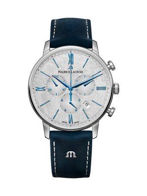 Maurice Lacroix Unisexuhr Eliros Date Chronograph EL1098-SS001-114-1 Edelstahl