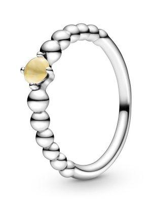 Pandora Ring - 198598C11 gelb