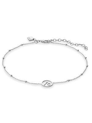 QOOQI Fusskette aus 925 Silber Damen, 88302605, EAN: 4064721978709