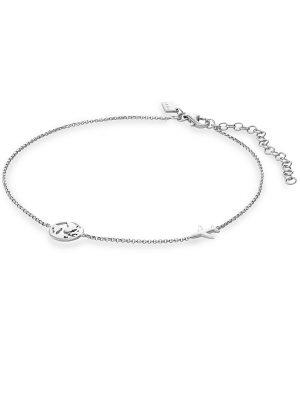 QOOQI Fusskette aus 925 Silber Damen, 88302621, EAN: 4064721978723