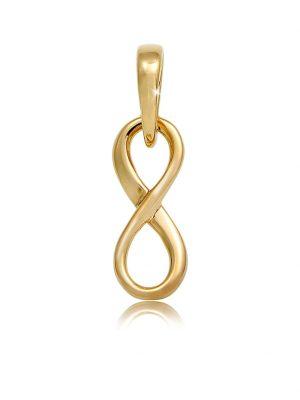 Anhänger Infinity Unendlichkeits-Symbol Edel 585 Gelbgold Elli Premium Gold
