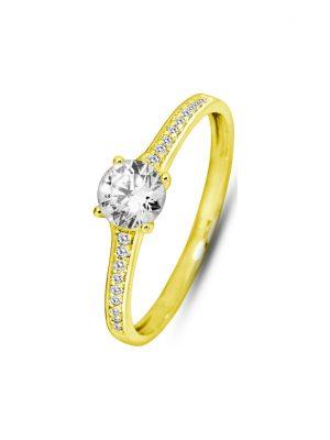 Valeria Damenring 88069633 375er Gelbgold