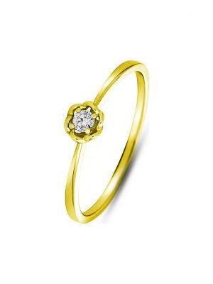 Valeria Damenring 88073568 375er Gelbgold