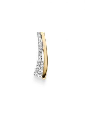 ELLA Juwelen Anhänger - V5-A 585 Gold, Zirkonia bicolor
