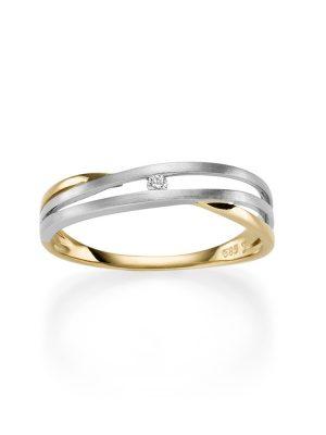 ELLA Juwelen Ring - 50 Zirkonia gold