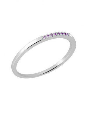 Momentoss Ring - 21300187 585 Gold, Edelstein silber