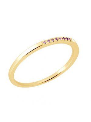 Momentoss Ring - 21300188 585 Gold, Edelstein gold