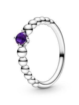 Pandora Ring - 198598C03 lila